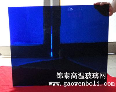 400×500大板蓝色钴玻璃